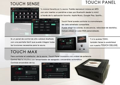 16.4 touch panel
