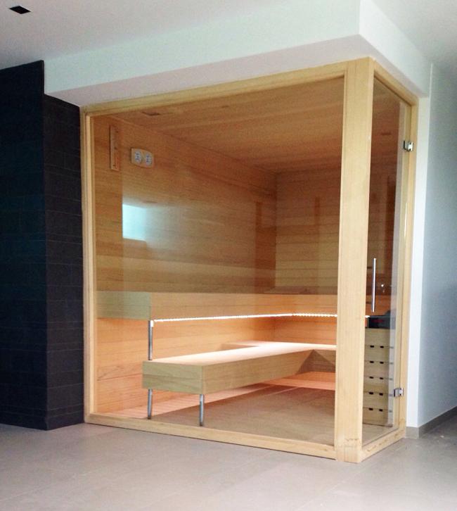 Saunas de dise o en madera saunapoolespana - Tipos de saunas ...
